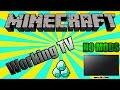 Working Minecraft Television [No Mods] [Minecraft 1.7.2+]