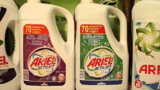 Гель для стирки Ариэль новинка(Ariel Ariel гель для цветного белья 4,9 л. - 70 стирок Ariel гель + lenor 4,9л. - 70 стирок Ariel гель Color & Style для цветного белья..., 2014-12-09T05:15:17.000Z)
