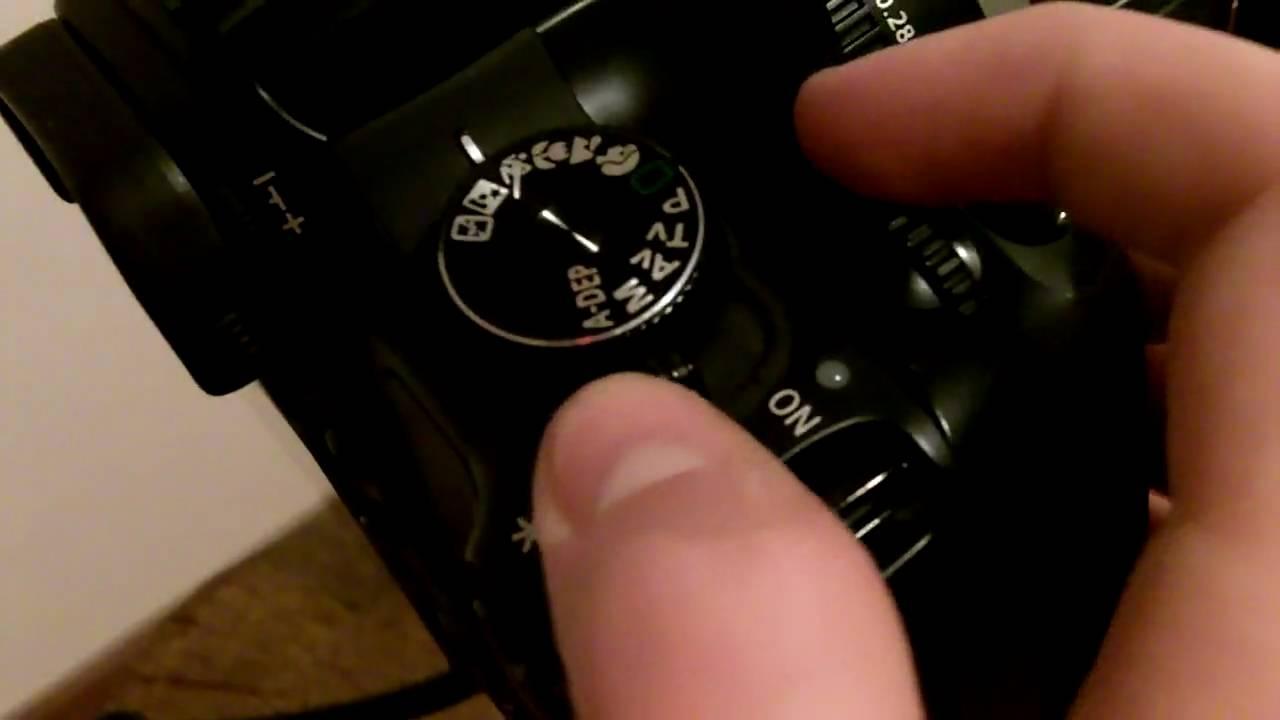 Canon Rebel Xti/400D Shutter Speed Test