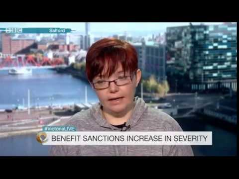 Rise of benefit sanctions