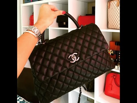 CHANEL COCO HANDLE / What fits in it & More details