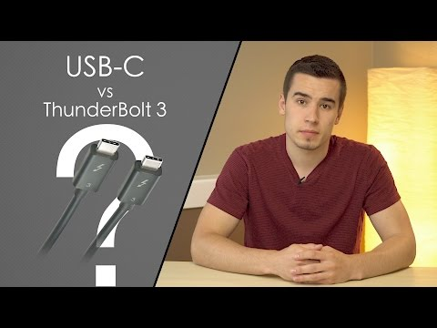 What's the difference between Thunderbolt 3 and USB-C?