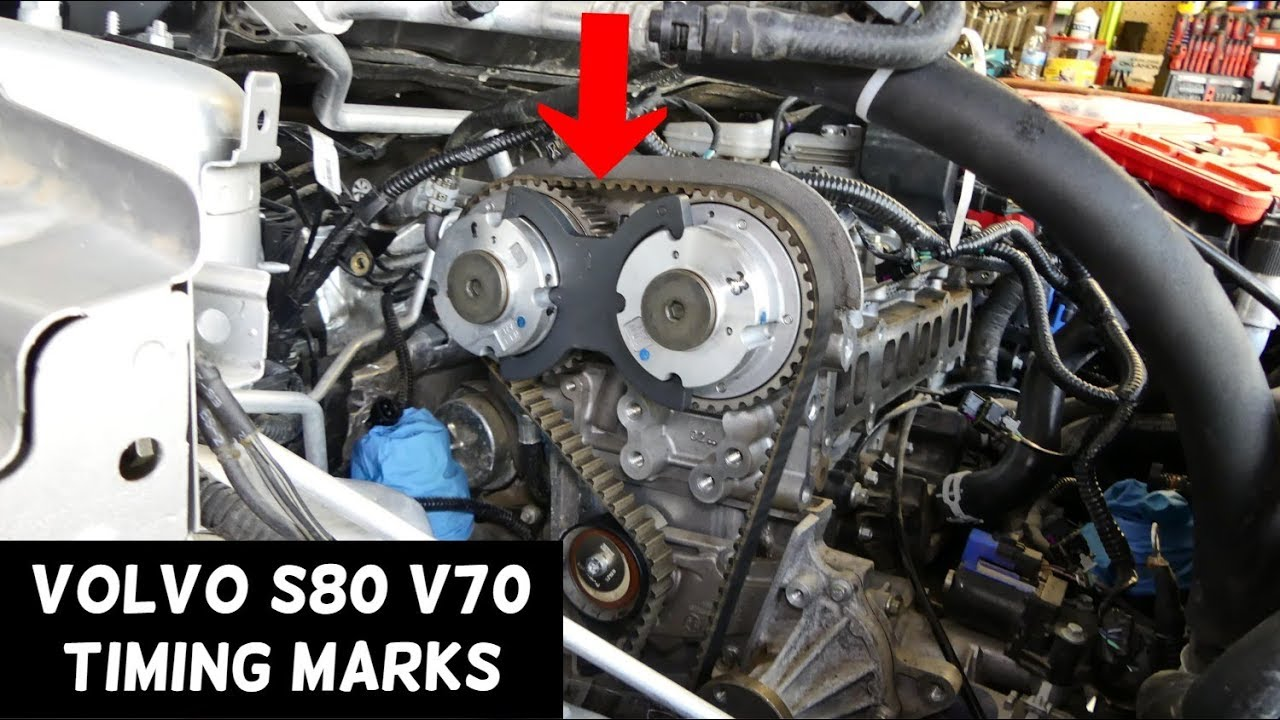 [GJFJ_338]  TIMING MARKS VOLVO S80 V70 T4 ENGINE 1.6 Timing Belt - YouTube | Volvo Timing Belt |  | YouTube