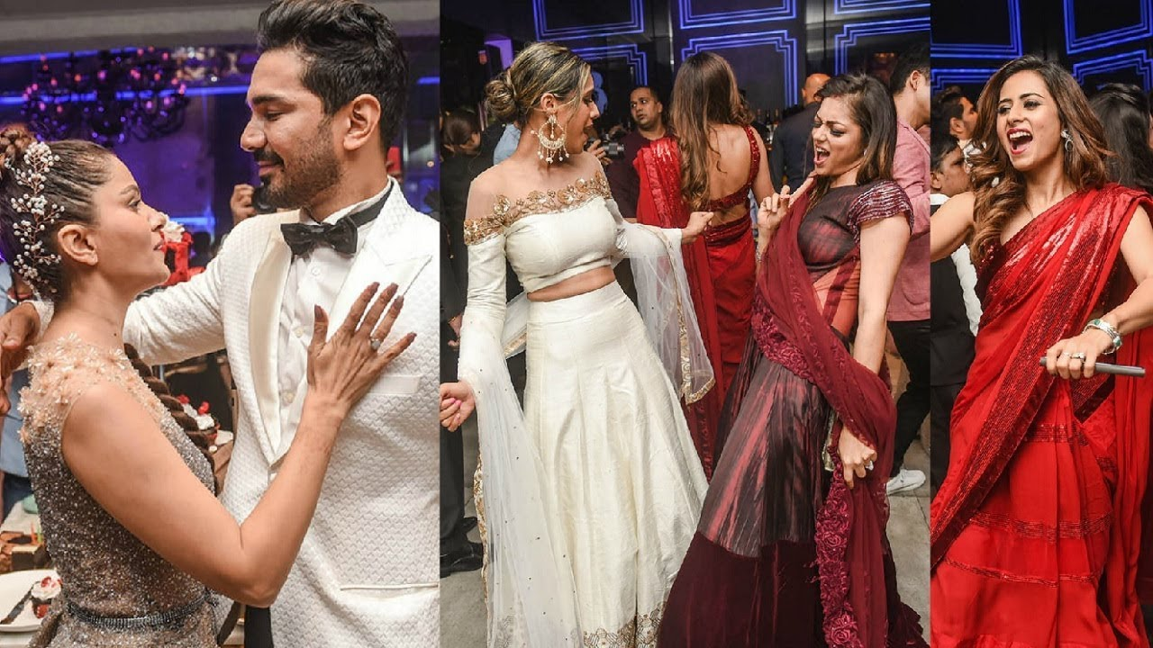 Inside Rubina Dilaik Wedding Reception