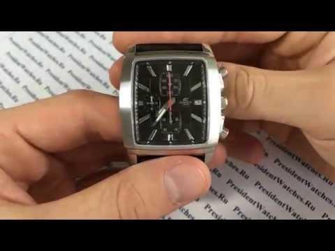 Часы Casio EDIFICE EF - 509L-1A - видео обзор наручных часов от PresidentWatches.Ru