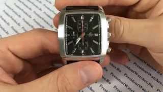 часы Casio EDIFICE EF-509L-1A - видео обзор наручных часов от PresidentWatches.Ru