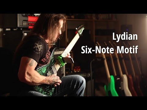 Rusty Cooley Code Archive - Lydian 6-Note Motif