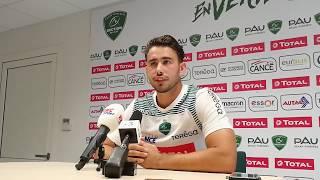 Antoine Hastoy après Section Paloise - Stade Français (13-25)