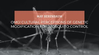 May Berenbaum: Omg! Cultural Perceptions Of Genetic Modification For Mosquito Control