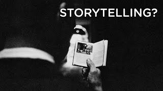IS PHOTOGRAPHY STORYTELLING?