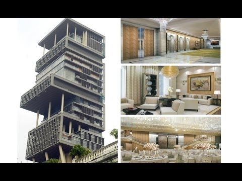 The Most Expensive House In The World - Mukesh Ambani's Antilia