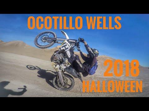 OCOTILLO WELLS HALLOWEEN 2018 CRASHES JUMPS AND FAILS