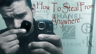 How to Steal From The Mall ,Walmart ,Target ,Ect