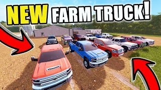 FARMING SIMULATOR 2017 | BUYING A NEW FARM TRUCK AT THE DEALSHIP! CHEVY? FORD? DODGE? | EP #27
