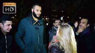 Fabricated Belief! Mohammed Hijab & Agnostic Girl | Speakers Corner | Hyde Park