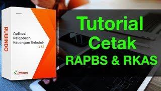 Aplikasi BOS SD SMP (Tutorial Cetak RAPBS & RKAS)