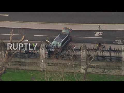 UK: Footage captures car driven into crowd in Westminster; death toll rises to 4 – reports