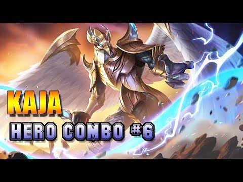 KAJA SKILL GUIDE - HERO COMBO # 6 - CARA BERMAIN LEGENDA KAJA MOBILE