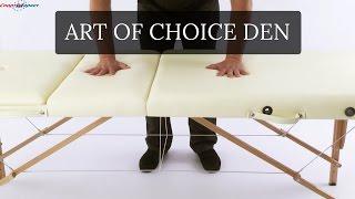 Art of Choice DEN массажный стол | Видео обзор Art of Choice DEN