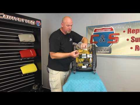 Corvette Seat Repair Kit, Clevises for C5 & C6 1997-2013