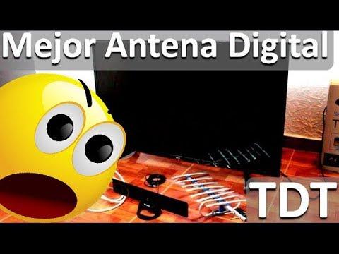 Antenas para televisi n digital tdt mejor antena tdt for Antena de interior para tdt