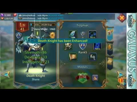 Lords Mobile-How To Make Your Account Stronger #4-Enhancing Heroes And Ranking Up