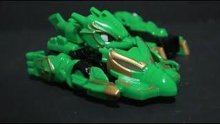 몬카트 샤오롱 장난감 변신 Monkart Green Car Toys play