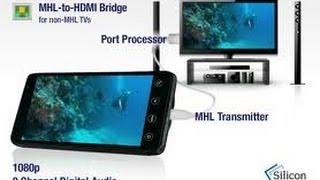 КАК смотреть YOUTUBE на TV - ПОДКЛЮЧИТЬ adapter  MHL HDMI(, 2012-12-27T00:29:14.000Z)