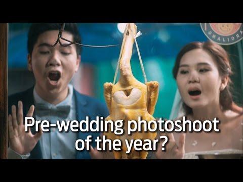 Foodie Pre Wedding