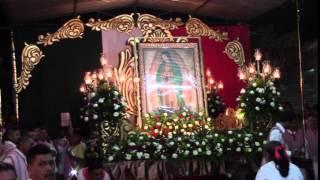 Zapotitlan De Vadillo 2015 Recorido de la Virgen y velacion