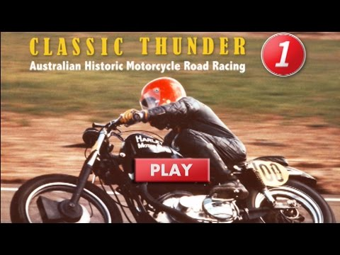 Classic Thunder Historic Motorcycle Racing in Australia