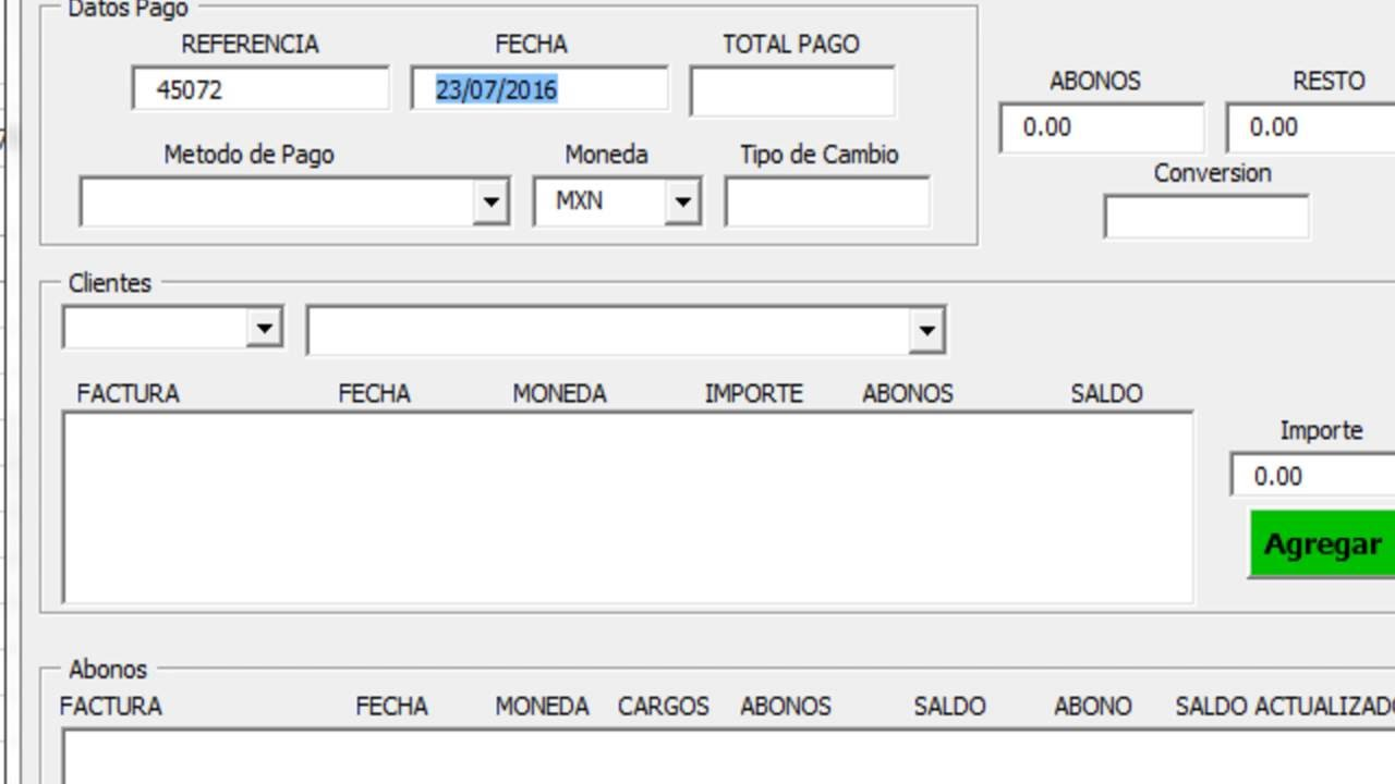 Cuentas por Cobrar en Excel ( CobranzaFX 4.0 ) - YouTube
