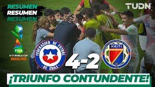 Resumen y Goles | Chile 4 - 2 Haití | Mundial Brasil Sub-17 - J2 | TUDN