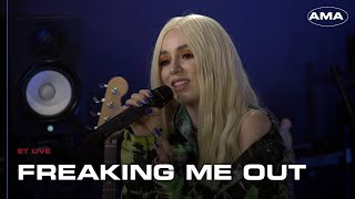Ava Max Freaking Me Out at ET Live