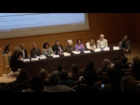 Getty Research Portal: Launch and Colloquium (Video 3 of 5)