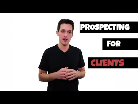 How To Prospect For High Paying Local Clients