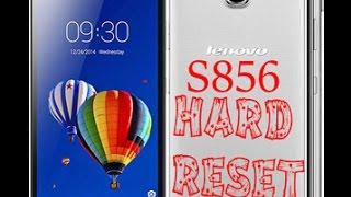Lenovo s856 Hard Reset Full Video