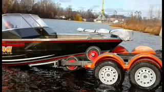 Катер Tuna и трейлер от UMS-BOAT