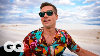 Brad Pitt's Epic Road Trip Through America's National Parks | GQ Style