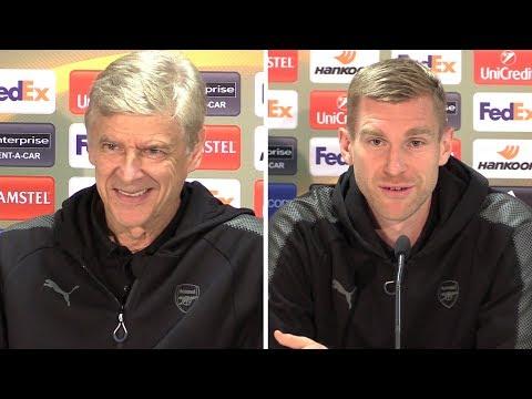 Arsene Wenger & Per Mertesacker Full Pre-Match Press Conference - Cologne v Arsenal - Europa League