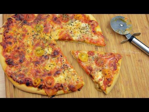 Easy Homemade Margherita Pizza Recipe