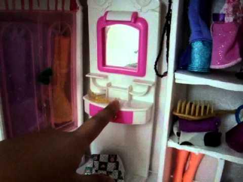 My Dollhouse Tour Barbie All Handmade Youtube