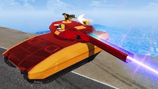 MOST POWERFUL LASER TANK! (GTA 5 DLC)