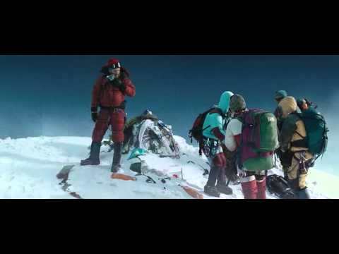 Everest movie - on the top scene