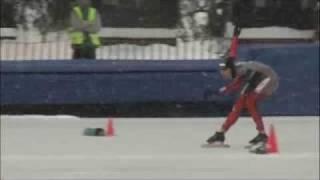 Zakopane 2009 World Junior championships Canadian team's first 500 meter races
