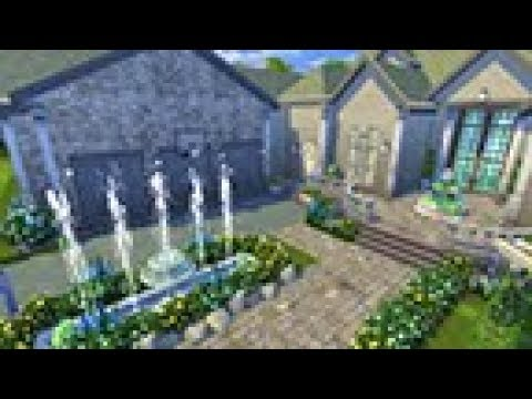 Sims 4 | Speed Build: Single Story Mansion