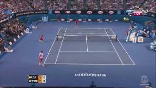 Australian Open 2014 Final Nadal vs Wawrinka Extended Highlights (Spanish)