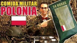 Probando Comida Militar de POLONIA | Ración 24 Horas