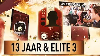 13-JARIG YouTube Talent HAALT ELITE!! | KOEN WEIJLAND FIFA19