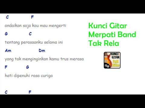 Chord Gitar Merpati - Tak Rela   By Chordfiz Kunci Gitar Offline Terbaru